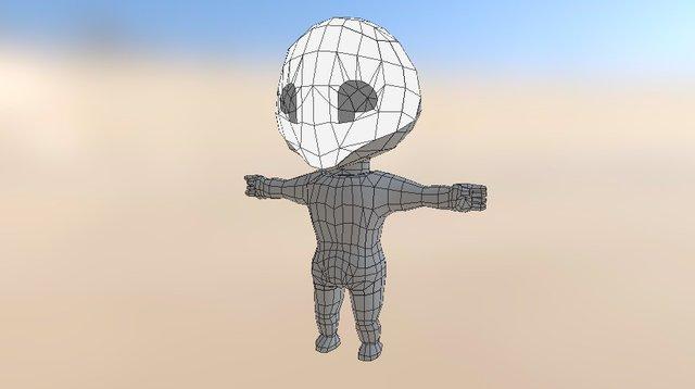 Humanoid character 3D Model