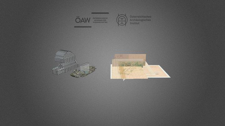 Tell el-Daba area F/I - j/21 Cellar, Tomb 12 3D Model
