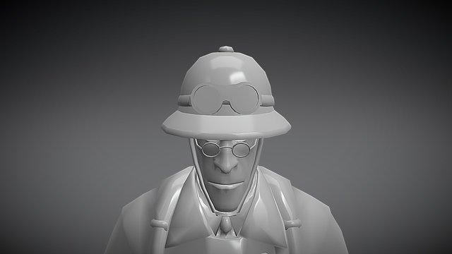 Explorer Hat 3D Model