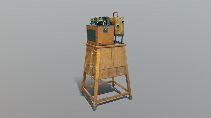 LOW Äänielokuvalaitteisto - Cinematograph 3D Model