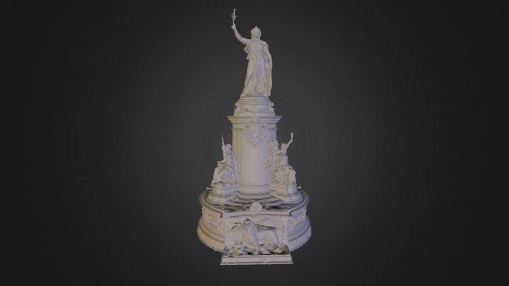 Republique 3D Model