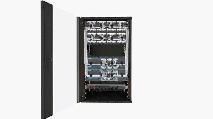 OPENETICS - UniRack 20U 3D Model