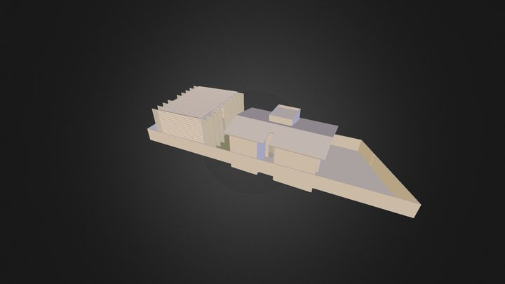 CHU 3D Model