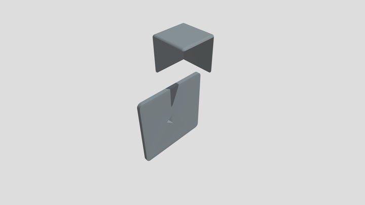 Pi Cube (Pedestal) 3D Model