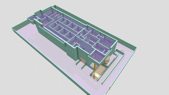 2 רמות המדע 40 3D Model