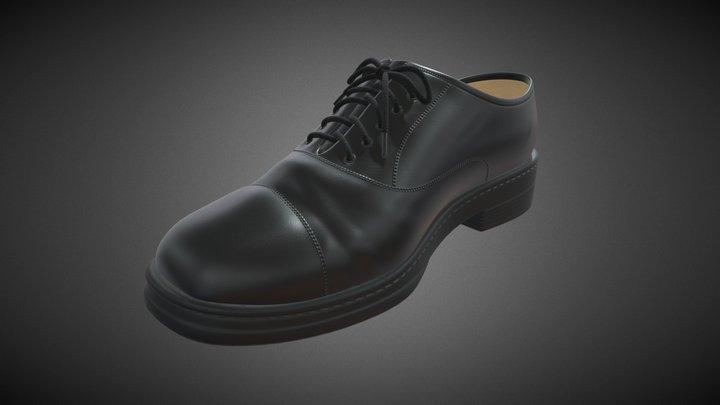 Dress shoe 3D Model