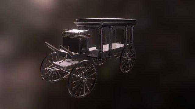Hearse_15k 3D Model