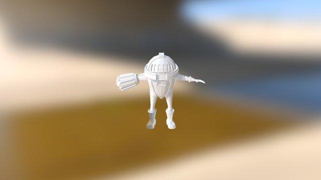 the Astroknight 3D Model