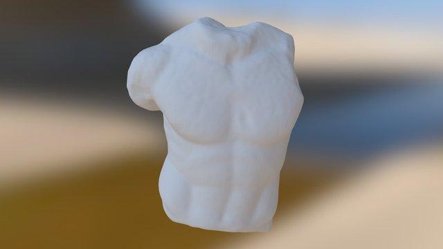 Statua Marmorea - Albano Laziale 3D Model
