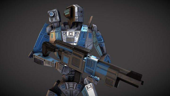 Fantastic Robot 4 3D Model