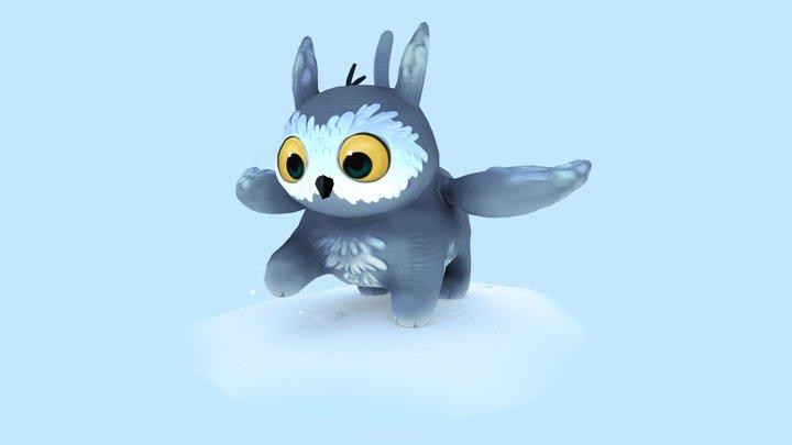 Owl Griffin 3D Model