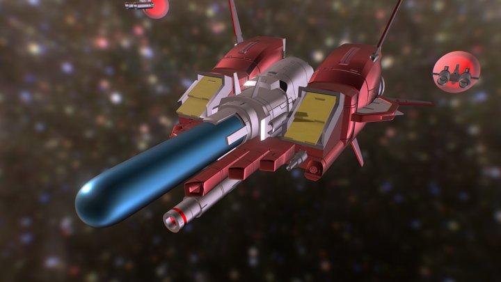 OF-1 Daedalus R-Type Final Ship 3D Model