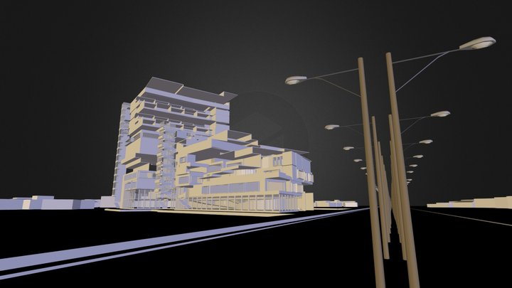 Mixed Use Development 3D Model