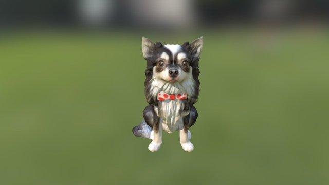 Dog 25 80mm (1) 3D Model