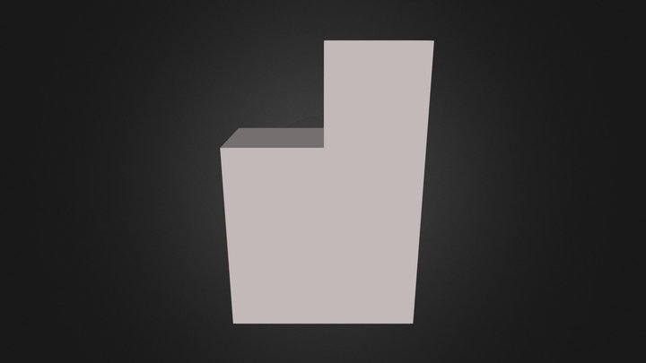 Demo Brown Part 3D Model