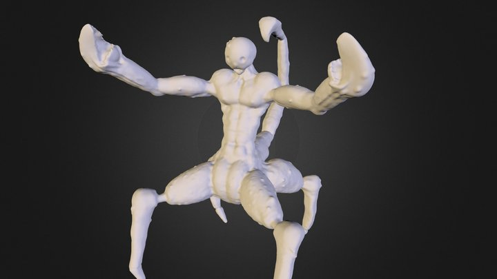 Crab People 3D Model