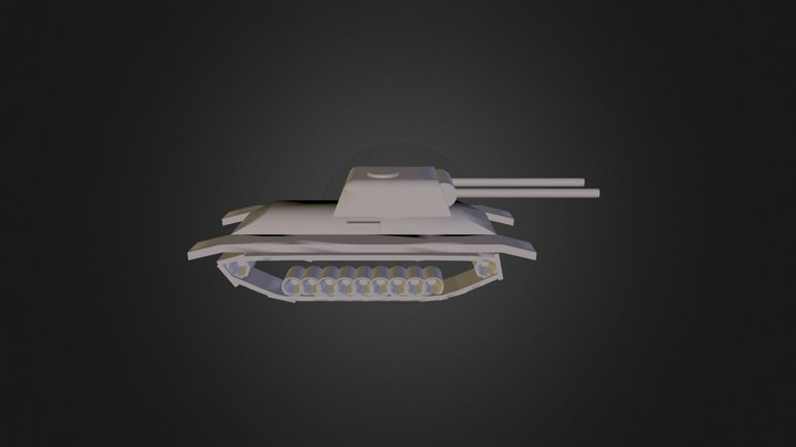 Tank 7 3D Model