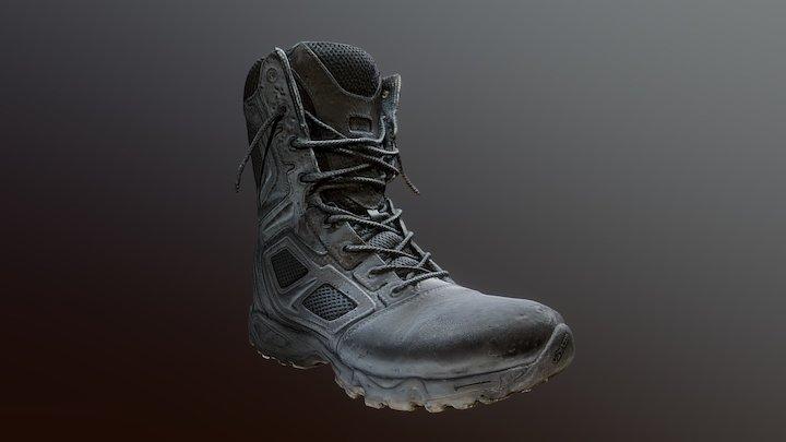 Magnum Elite Spider 8.0 boots Photogrammetry 3D Model