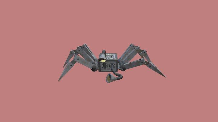 Little Robot Guy 3D Model