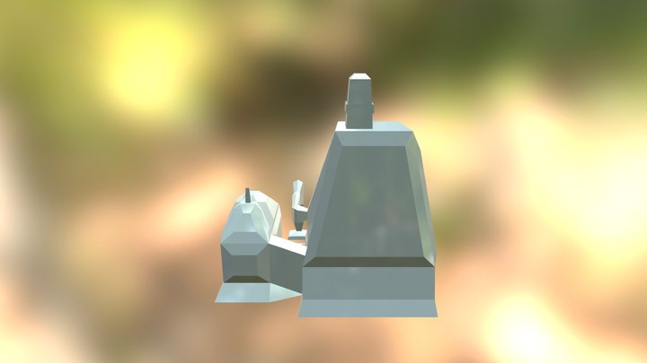 Calenbuilding 3D Model