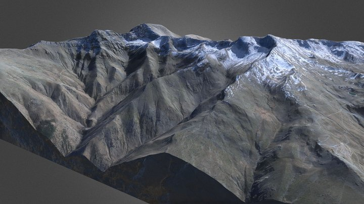 Sierra Nevada HD 3D Model