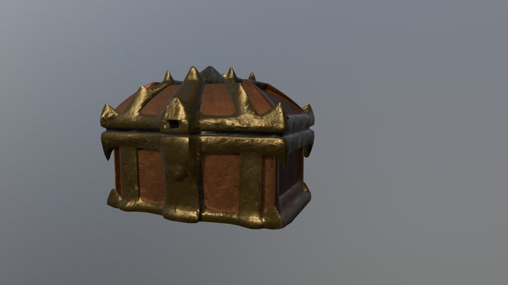 Chest spiky 3D Model