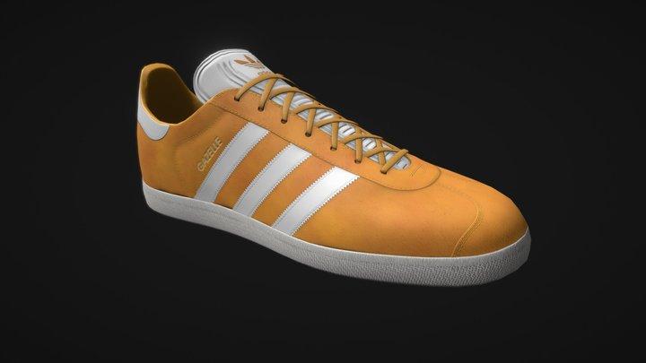 Adidas Gazelle 3D Model