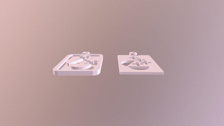 Lisa Pendant Ideas 3D Model