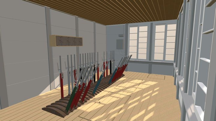 Signal Cabin 3D Model
