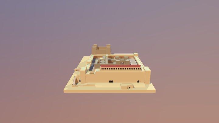 Templo Herodes 3D Model
