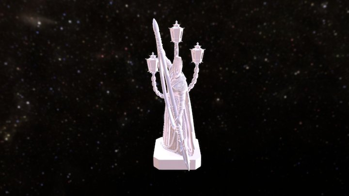 Aria Revenant 3D Model