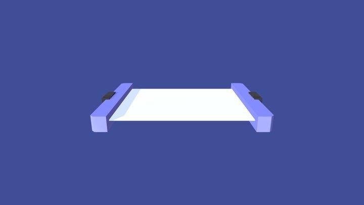 animated-sci-fi-instruction-panel 3D Model
