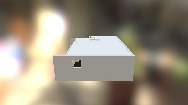 Projet PIRPON : version petit meuble et miroirs 3D Model