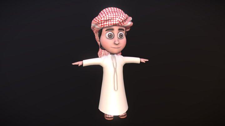 Arab Prince 3D Model