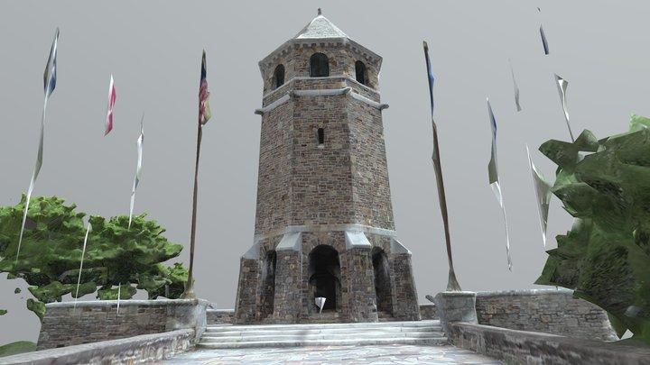 Fox Hill Tower War Memorial 3D Model