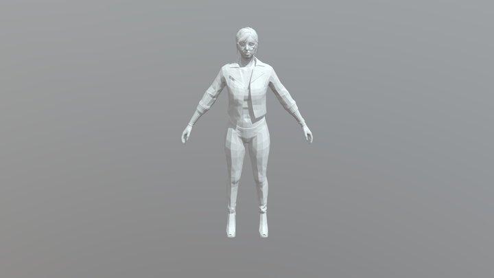 Zomb1e's GTA:O Character 3D Model