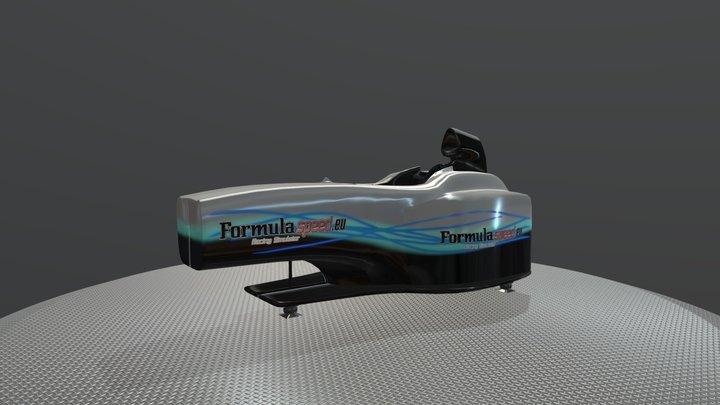 Mercedes Formula Home - Formulaspeed 3D Model
