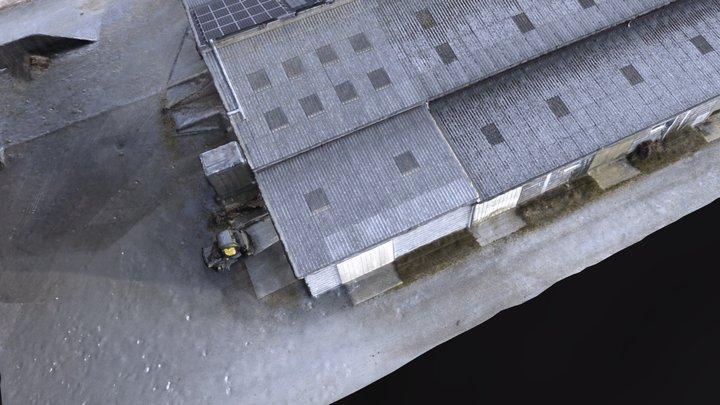 La Rousseliere Modélisation Simplified 3d Mesh 3D Model