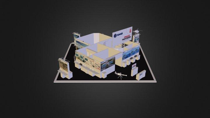 Saab Thailand 3D Model