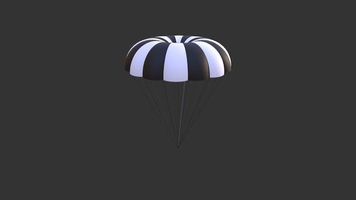 2018 NASA Main Parachute 3D Model