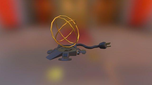 Teleportation Device 3D Model