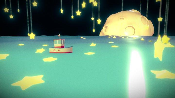 sea of star 3D Model