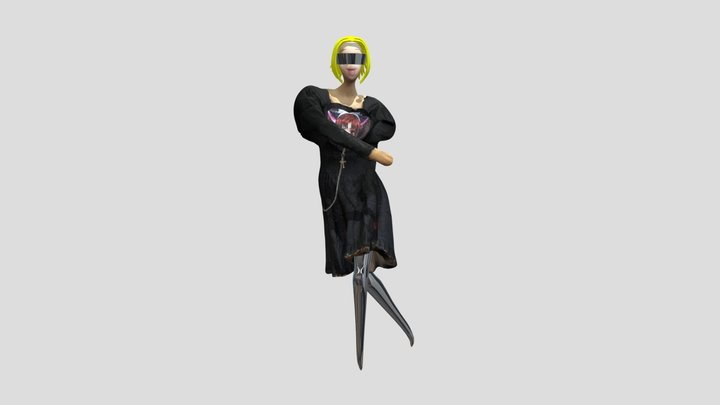 black-dress-amt 3D Model