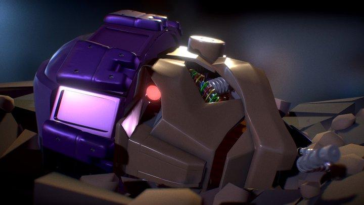 X-men Sentinel 3D Model