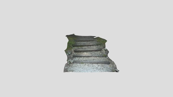 Trail Stairs 3D Model
