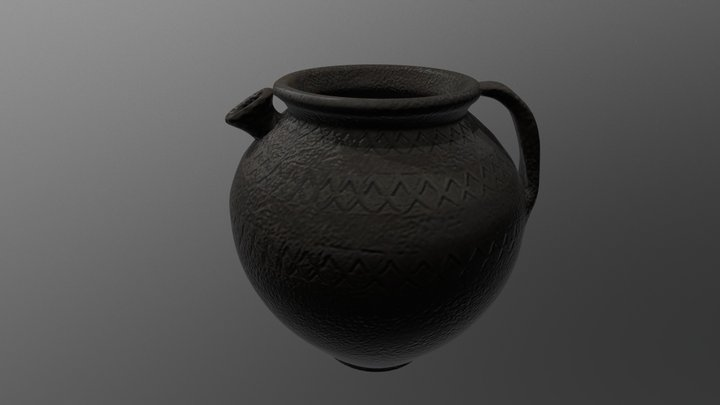 Viking jug 3D Model