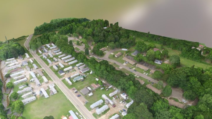 Oxford Housing Authority Near South 18th St 3D Model