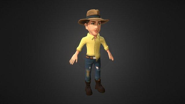 Minecart - Jones 3D Model