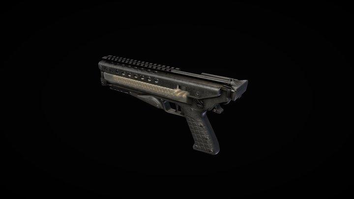 Keltec P50 Pistol 3D Model