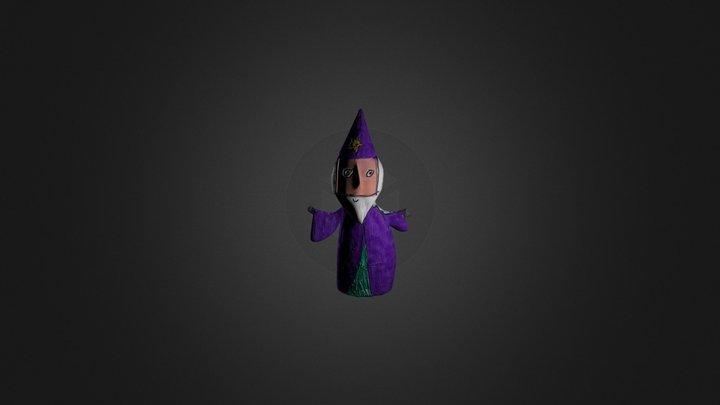 Daniel's Wizard 3D Model